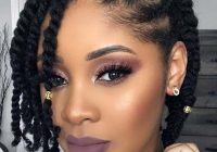 Elegant 45 beautiful natural hairstyles you can wear anywhere African American Women Natural Hairstyles Ideas