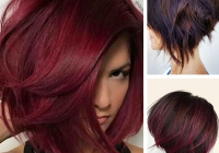 Elegant 45 natural looking unique deep burgundy short hair color Hair Color And Styles For Short Hair Inspirations