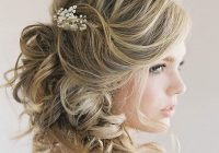Elegant 48 trendiest short wedding hairstyle ideas wedding forward Short Hairstyles For Bridal Party Choices