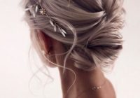 Elegant 48 trendiest short wedding hairstyle ideas wedding forward Simple Hairstyles For Short Hair For Weddings Inspirations