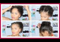 Elegant 5 super easy cute styles for short curly hair back2school Cute Simple Hairstyles For Short Curly Hair Ideas