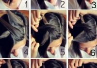 Elegant 50 incredibly easy hairstyles for school to save you time Diy Hairstyles For Short Hair Step By Step Inspirations