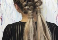 Elegant 51 pretty holiday hairstyles for every christmas outfit Long Hair Braided Styles Choices