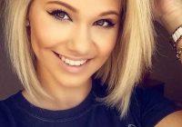 Elegant 57 blonde short hairstyles for round faces short hair Blond Short Hair Styles Ideas