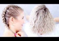 Elegant aveda how to create even waves with a french braid youtube Ways To Braid Your Hair At Night Inspirations