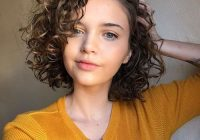 Elegant bob hairstyles about curls lilostyle in 2020 curly hair Cute Haircuts For Short Curly Hair Inspirations