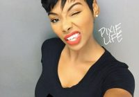 Elegant bout that life my hair looks like this without a curl in it Pinterest African American Short Hairstyles Ideas