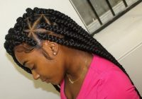 Elegant braid styles for natural hair growth on all hair types for Braids For Black Natural Hair Ideas
