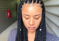 Elegant braided hairstyles to try as protective styling for natural Different Types Of Braids African American Ideas