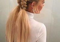 Elegant braids hairstyles white hair White Hair Braid Styles Ideas