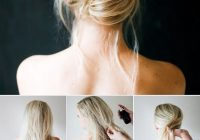 Elegant braids twists and buns 20 easy diy wedding hairstyles Wedding Guest Hairstyles Diy Short Hair Choices