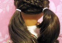 Elegant cross over pigtails in 2020 american girl hairstyles Cool Hairstyles For Your American Girl Doll Designs