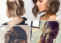 Elegant diy cool easy hairstyles that real people can actually do at Easy Hairstyle For Short Hair At Home Inspirations