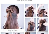 Elegant diy easy hairstyles easy hairstyles for medium hair easy Easy Hairstyles For Short Hair To Do At Home For School Choices