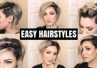 Elegant easy hairstyles for short hair chloe brown youtube Styles Of Short Hair Choices