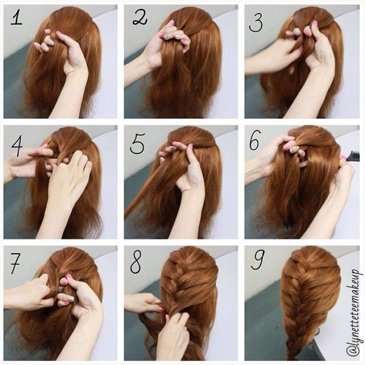 Permalink to Awesome French Braid Hairstyles Step By Step Pictures Ideas