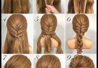 Elegant hair styling curly hair style long hair style short hair Simple Braided Hairstyles For Short Hair Step By Step Ideas