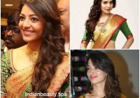 Elegant hairstyles in saree cool hairstyles hair styles curly Hairstyles For Short Wavy Hair For Saree Choices