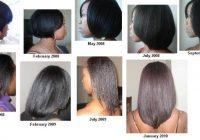 Elegant healthy hair journey relaxed hair Hairstyles For Medium Length Relaxed African American Hair Designs