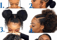 Elegant how to make natural hair less time consuming a drop of Natural Simple Hair Styles For Short Hair Inspirations