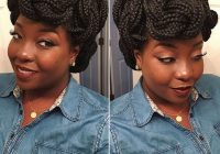 Elegant how to pack braids into different styles tukocoke Styles For Packing Braided Hair Ideas