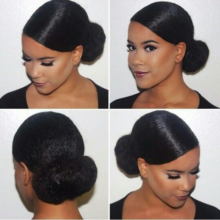 Permalink to Unique Bun Hairstyle For African American Hair Inspirations