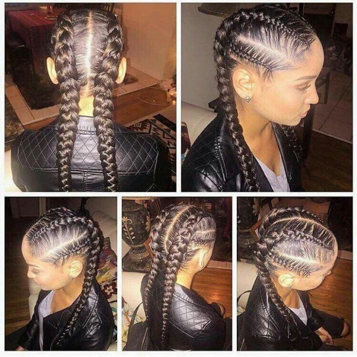 Permalink to 11 Stylish French Braid African American Hairstyles
