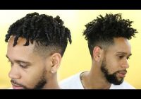 Elegant mens natural hair tutorial twist out youtube African American Male Twist Hairstyles Designs