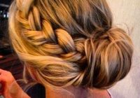 Elegant perfect side braid bun hair and beauty tutorials hair French Braid Bun Hairstyles Tutorial Choices