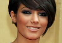 Elegant pin on beauty Short Hairstyle For Round Faces Choices
