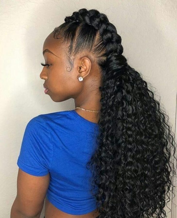Permalink to Cool Cute Hairstyles For Long African American Hair