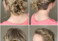 Elegant pin on hair tutorials French Braid Bun Hairstyles Tutorial Ideas