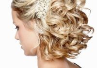 Elegant pin on hair Wedding Hairstyles For Bridesmaids With Short Hair Ideas