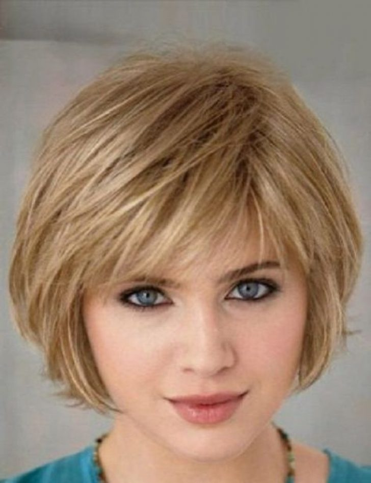 Permalink to 9   Short Bob Hairstyles With Bangs For Fine Hair