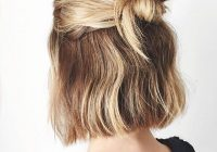 Elegant pin on major hair envy Cute Ways To Style Short Hair For School Ideas