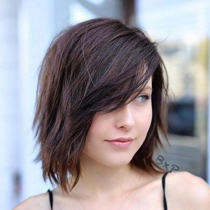 Permalink to Beautiful Hairstyle For Short Hair With Side Bangs