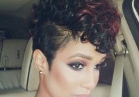 Elegant pin on stayglam hairstyles Short Hair Mohawk Styles For Black Women Inspirations