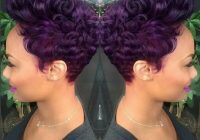 Elegant pin on the cut life African American Short Hairstyles With Color Designs