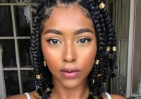 Elegant pinterest kayabrigette natural hair styles braided African American Cute Hair Braids Style For Women Ideas