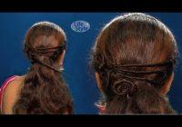 Elegant simple rosette flower braid hairstyle tutorial for medium Rosette Flower Braid Hairstyle For Medium Long Hair Tutorial Inspirations