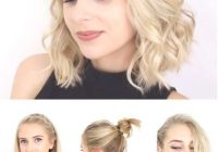 Elegant super quick and easy short hairstyles for school date or Easy Everyday Hairstyles For Short Curly Hair Inspirations