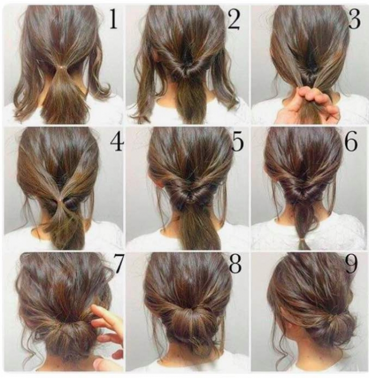 Permalink to 9 Awesome Hairstyle For Short Hair For Party Step By Step Ideas