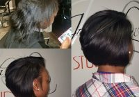 Elegant voiceofhair blowout hair short permed hair hair styles Short Bob Hairstyles For Relaxed Hair Ideas