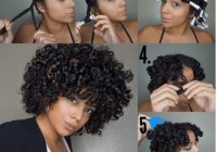 Elegant voluminous twist curl style igactuallyashly Styling Short Black Hair Without Heat Inspirations