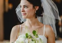 Elegant wedding hairstyles with a veil 12 fairytale perfect looks Short Hair Wedding Styles With Veil Choices