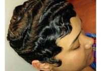 finger waves hairstyle inspirations for the todays classic African American Short Finger Wave Hairstyles Ideas