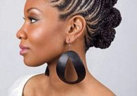 fishtail braid hairstyles for black women braided Fishtail Cornrows Hairstyles In Africa