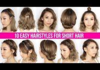 Fresh 10 easy ways to style short hair long bob tina yong Good Ways To Style Short Hair Ideas