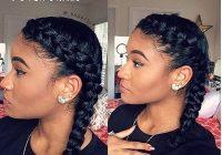 Fresh 10 hot go to summer hairstyles on natural hair hergivenhair French Braids Styles Black Hair Ideas