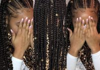 Fresh 12 easy winter protective natural hairstyles for kids African Braids Hairstyle For Girls I Inspirations